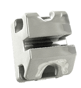 Bráquete Sistema RT - Compósito Translucido/Cristal - Slot Metálico