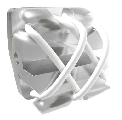 Bráquete Sistema RT Baixa Fricção - Compósito Translucido