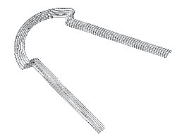 Arco Bio Lingual NiTi Superelastico Com forma (Cogumelo)