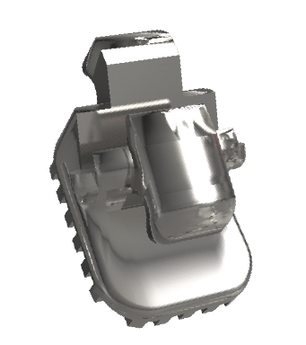 Bráquete Sistema Lingual STB - Metálico