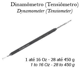 Dinamômetro (Tensiômetro)