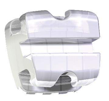 Braquete sistema RT - Cerâmico translucido