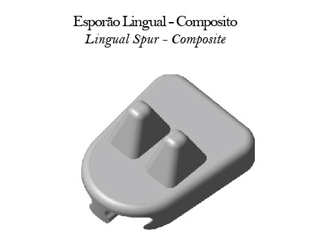 Esporão Lingual - Composito